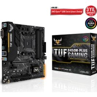 Asus Tuf B450M-Plus Gaming AMD B450 AM4 DDR4 4400 Mhz mATX Anakart