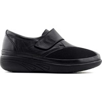 Evida 2666 Hakiki Deri Kadın Ayakkabı Siyah