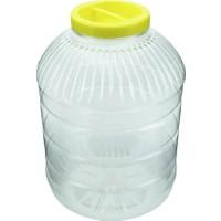 Aspet Plastik Pet Kavanoz 10 Lt -2 Adet