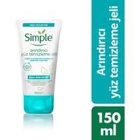 Simple Arındırıcı Yüz Temizleme Jeli 150 ml