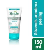 Simple Daily Skin Detox Yağlı Ciltler İçin Vitamin B3 İçeren Gözenek Arındırıcı Peeling 150 ML