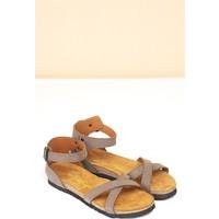 Pierre Cardin Kadın Günlük Sandalet-Kum