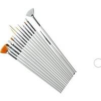 Rosevelt Tırnak Süsleme Fırça Seti Nail Art Fırça Seti