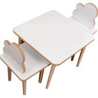 Makeart Baby Yaz-Sil Yüzey Çocuk Oyun ve Aktivite Masa Sandalye + Kalem + Silgi