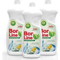 Borline Bor Katkılı 650 ml Bulaşık Deterjanı (3 Adet)