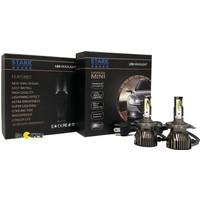 Stark Supervision Mini / Slim H4 Csp LED Xenon 8000 Lümen Şimşek Etkili 6000 Kelvin Beyaz Renkli Far Ampulü