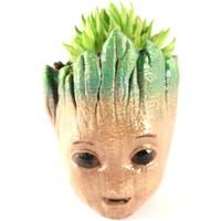 Propixel Mutlu Baby Groot Kaktüs Sukulent Saksı