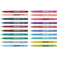 Artline 200 Ince Uçlu Yazı ve Çizim Kalemi Tüm Renkler 20'li