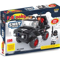 Furkan Toys F-Blocks Swat Polis Blok Seti - 288 Parça FR37371