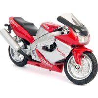 Welly Yamaha YZ1000R Thunderace Diecast Model Motosiklet 1/18