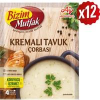 Bizim Mutfak Kremalı Tavuk Çorbası 62 gr 12'li Paket