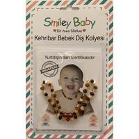 Smiley Baby Kehribar Bebek Diş Kolyesi