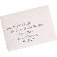 Lapis Harry Potter Mektup