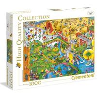 Clementoni - 1000 Parça High Quality Yetişkin Puzzle - Complex Sports