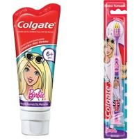 Colgate Barbie Diş Macunu 75 ml + Barbie Diş Fırçası