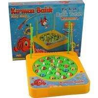 Kayyum Oyuncak Pilli Müzikli Balık Yakalama Oyunu 24 Balık 4 Oltalı
