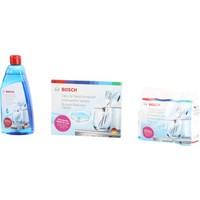 Bosch Bulaşık Makinesi Deterjan Seti Tuz + Parlatıcı + Tablet Deterjan