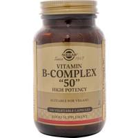 Solgar Vitamin B-Complex '50' 100 Kapsül