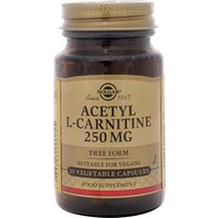 Solgar Acetyl L-Carnitine 250 Mg 30 Kapsül