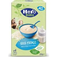 Hero Baby Sütlü Pirinçli Kaşık Mama 200g