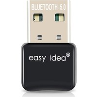 Easy Idea Mini Adaptör Dongle Bluetooth 5.0 USB Alıcı