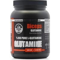 Biceps Glutamıne %100 Pure L - Glutamine 500 gr 100 Servis
