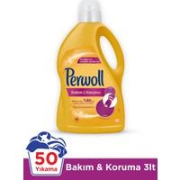 Perwoll Bakım ve Onarım için Hassas Sıvı Çamaşır Deterjanı 3L