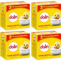 Dalin Bebe Sabun 3'lü Paket 100 gr x 4 Adet