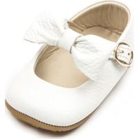 Ella Bonna Kız Bebek Ayakkabisi Babet Deri Kaydırmaz Taban