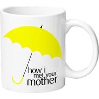 Bir Hediyen Olsun How I Met Your Mother Sarı Şemşiye Kupa