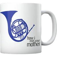 Bir Hediyen Olsun How I Met Your Mother Mavi Korna Kupa