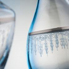 Kcd Cam Dekor Di̇zayn Efruz Platin 61 Parça Su Takımı