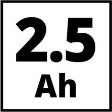 Einhell Te-Cı 18/1 Li 2 Adet 18V 2,5 Ah Akülü ve Çantalı Vidalama