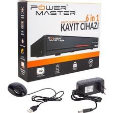 Powermaster 6in1 4 Kanal 1080N Dvr Kayıt Cihazı H265