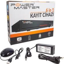 Powermaster 6in1 16 Kanal 1080N Dvr Kayıt Cihazı H265