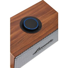 MF Product Acoustic 0170 20W Ahşap Kablosuz Bluetooth Speaker