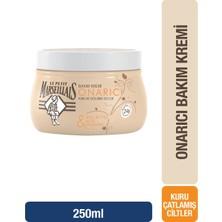 Le Petit Marseillais Onarıcı Vücut Banyo Bakım Kremi Shea Butter & Aloe & Balmumu (Kavanoz) 250 Ml