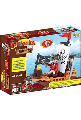 Furkan Toys F-Blocks Korsan Seri 66 Parça