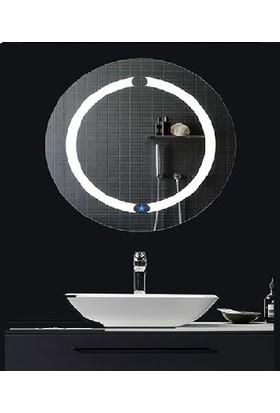 Teko Plus Yuvarlak LED Banyo Aynası 60 x 60 cm