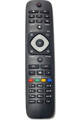 Electroon Philips 47PFL4307K/12 Uyumlu LED Tv Kumanda RM-L1125