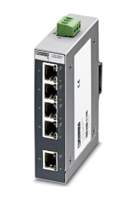 Phoenix Contact FLSWITCHSFNB5TX 5 Port Endüstriyel Ethernet Switch