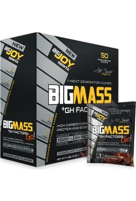Bigjoy Sports Bigmass Mass Gainer Gh factors Karbonhidrat Protein Çikolata 50 Sachet