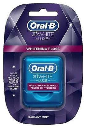 Oral-B 3D White Luxe Whitening Floss Diş Ipi 35 m
