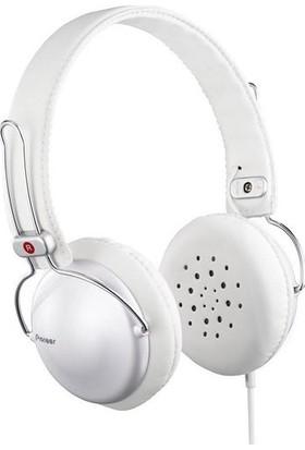 Pioneer SE-MJ151-H Kulaküstü Kulaklık - Beyaz