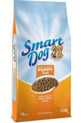 Smart Dog Tam ve Dengeli Yavru Köpek Maması 15 kg