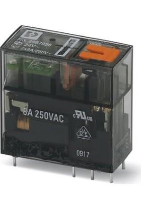 Phoenix Contact REL-MR-24AC/21-21/MS 24VAC 8A 2 Kontak Röle