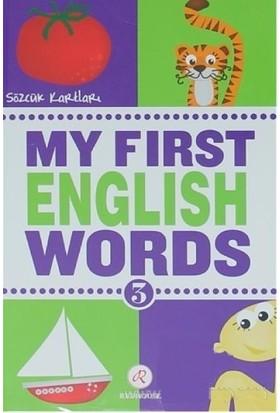 My First English Words 3 Sözcük Kartları