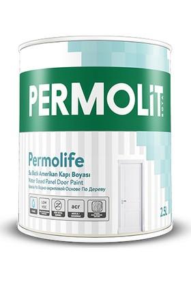 Permolit Permolife Su Bazlı Amerikan Kapı Boyası Beyaz 2.5 lt