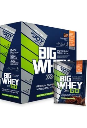 Bigjoy Sports Big whey go Whey Protein Tozu Tekli Sachet Çikolata Aroma 68 Servis 2240g