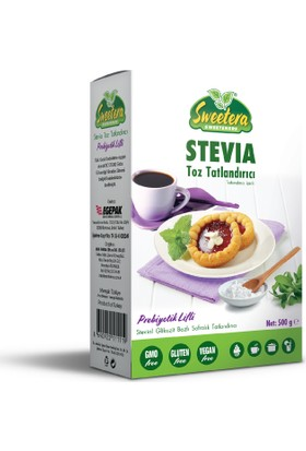 Sweetera Stevia Prebiyotik Lifli Tatlandırıcı Toz 500 gr